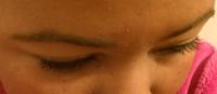 closed eyes mascara