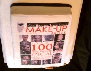 Make-up Artist Magazine 100 Issue cake