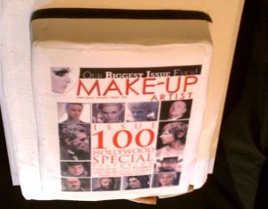 Make-up Artist Magazine 100 Issue cake